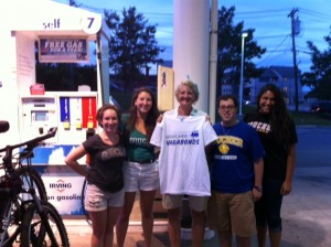 We met Dorian Rogers Winslow '78 at a gas station in Portland, Maine. Goucher really is everywhere!