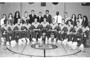 Celebrating Goucher's First Male Championship Basketball Team