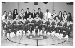 1993-94 Men's Championship Basketball Team