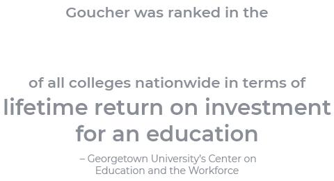 Top 20% of all colleges nationwide in terms of lifetime return on investment for an education