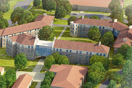 New res hall opens this summer!