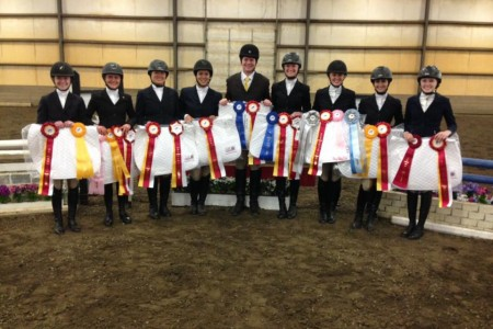 Goucher Equestrian Finishes in Top 10 at Nationals