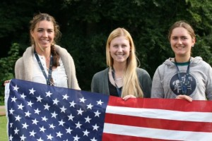 Cary Hundley '18 Represents Goucher at Equestrian Championship in Sweden