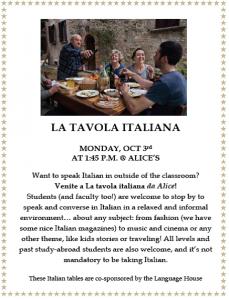 la tavola italiana