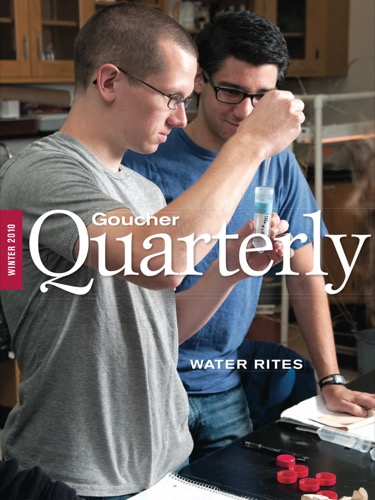 Goucher Quarterly Winter 2010
