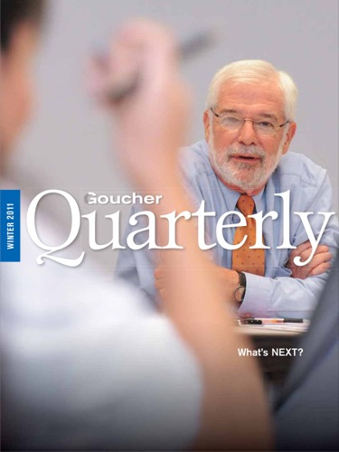 Goucher Quarterly Winter 2011