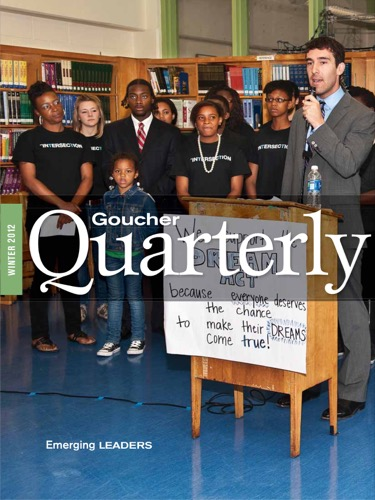 Goucher Quarterly Winter 2012