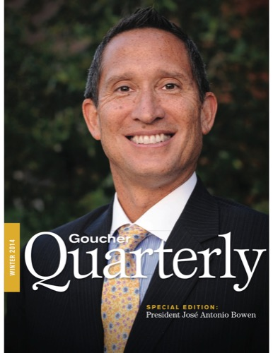 Goucher Quarterly Winter 2014