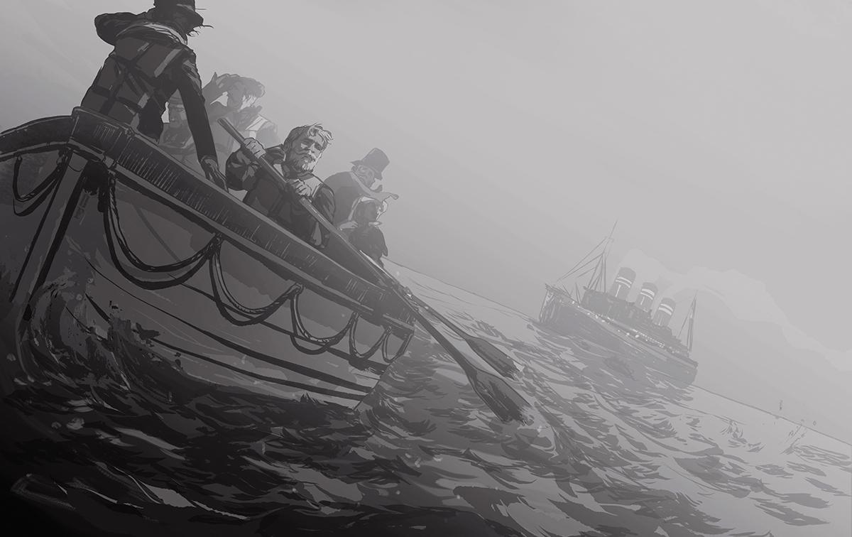 Shipwreck Illustration by Owen Freeman