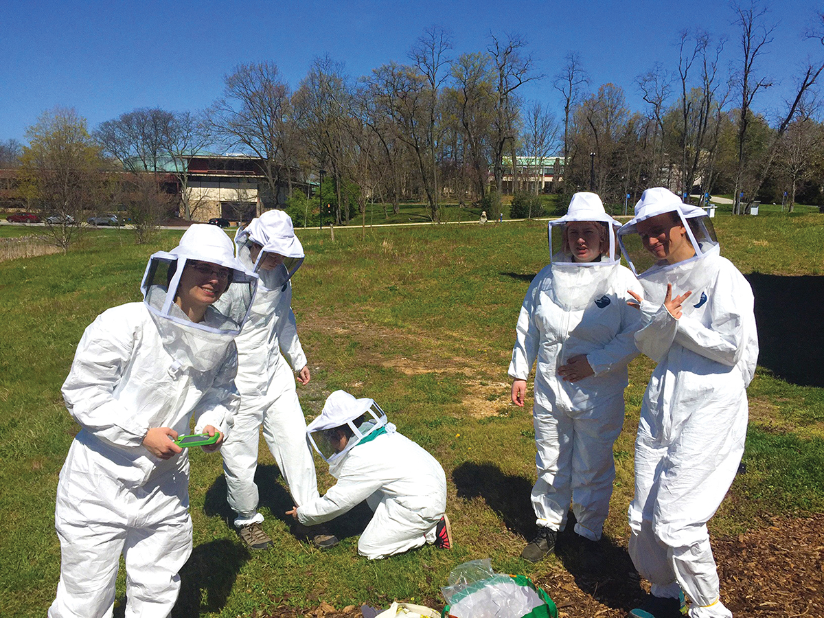 Goucher's Beekeeping Club
