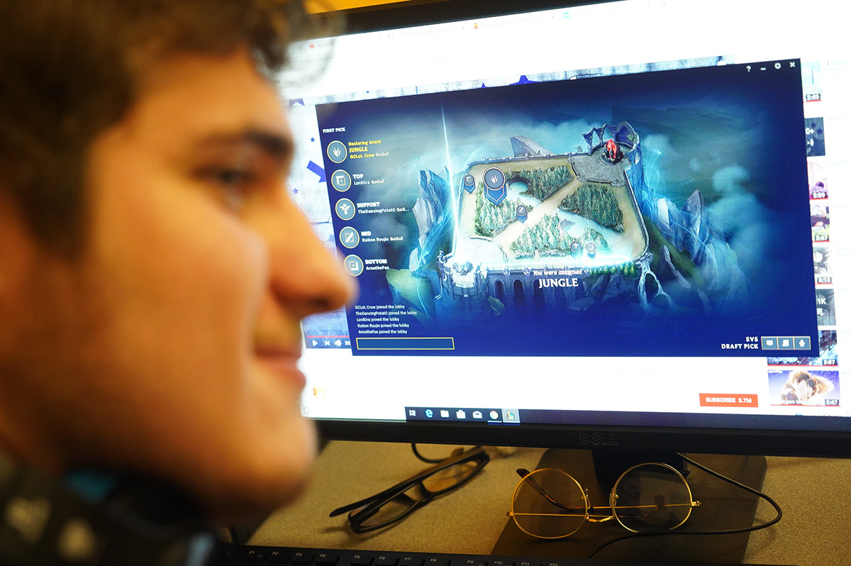 Goucher student plays League of Legends
