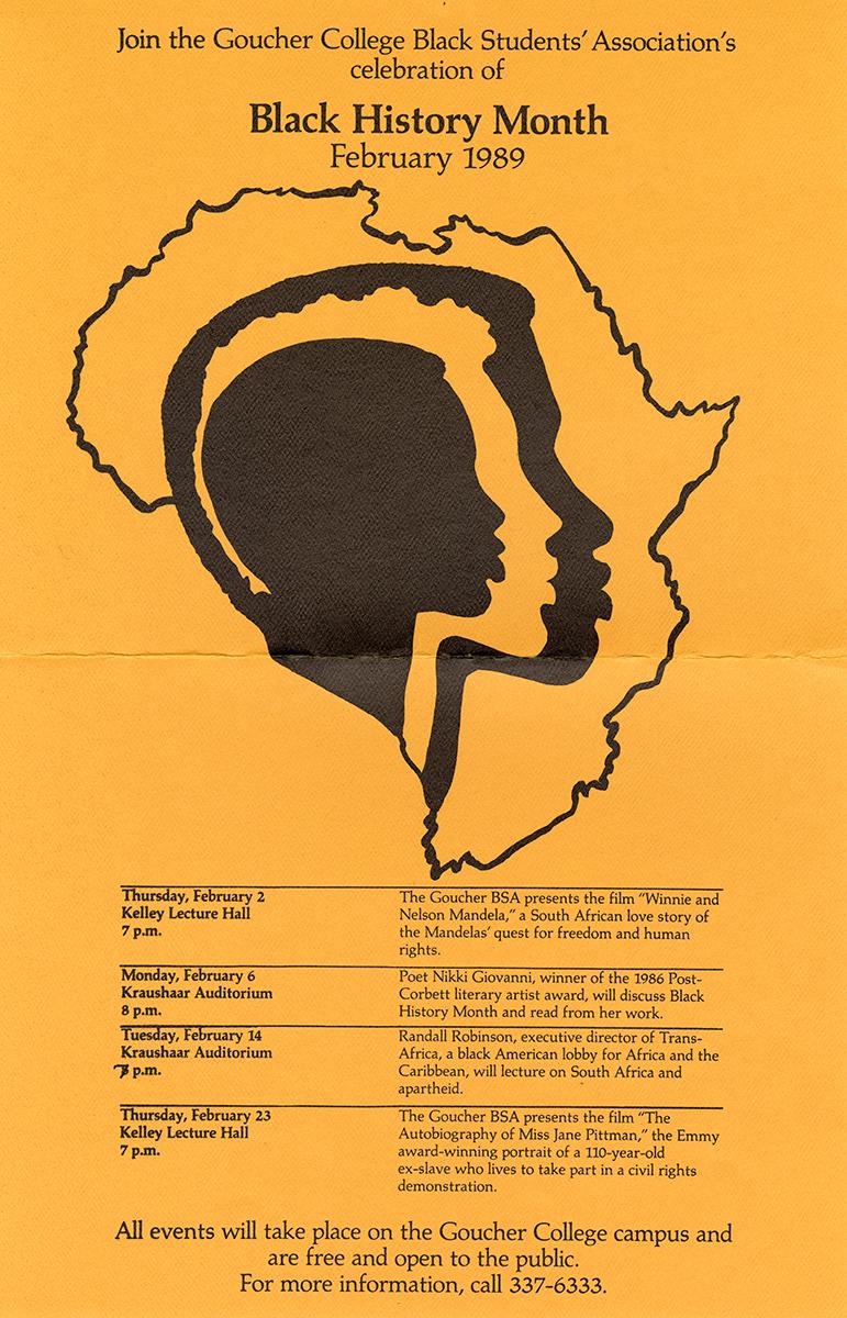 Black History Month 1989