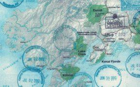 Alaska site map