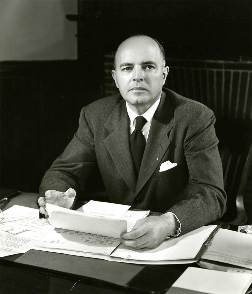 former Goucher President Otto Kraushaar