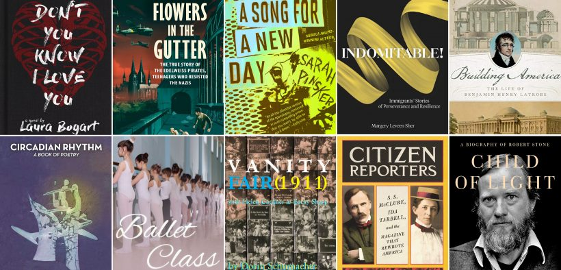 Recent books from the Goucher community