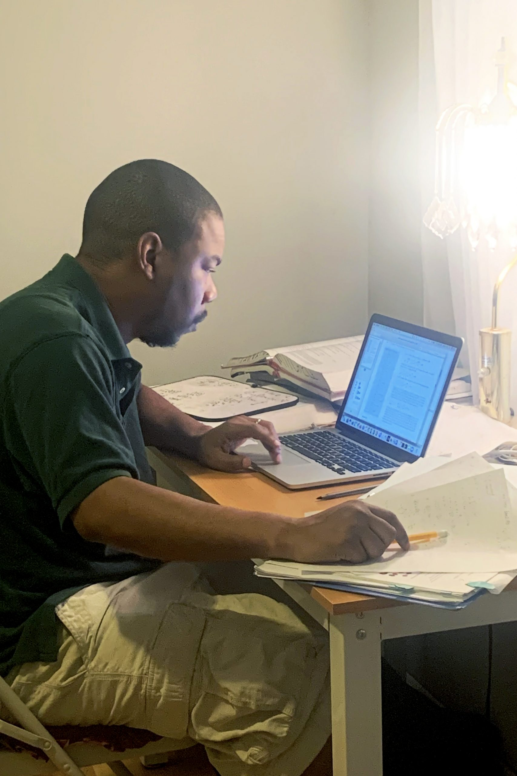 Jaired Tate's home office