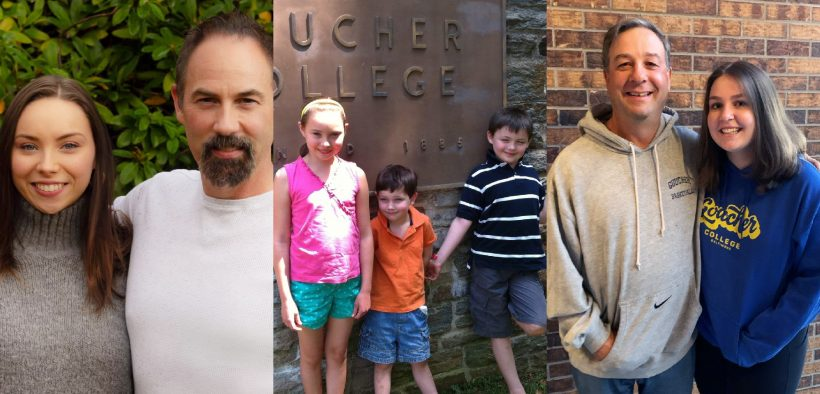 fathers and daughters at Goucher