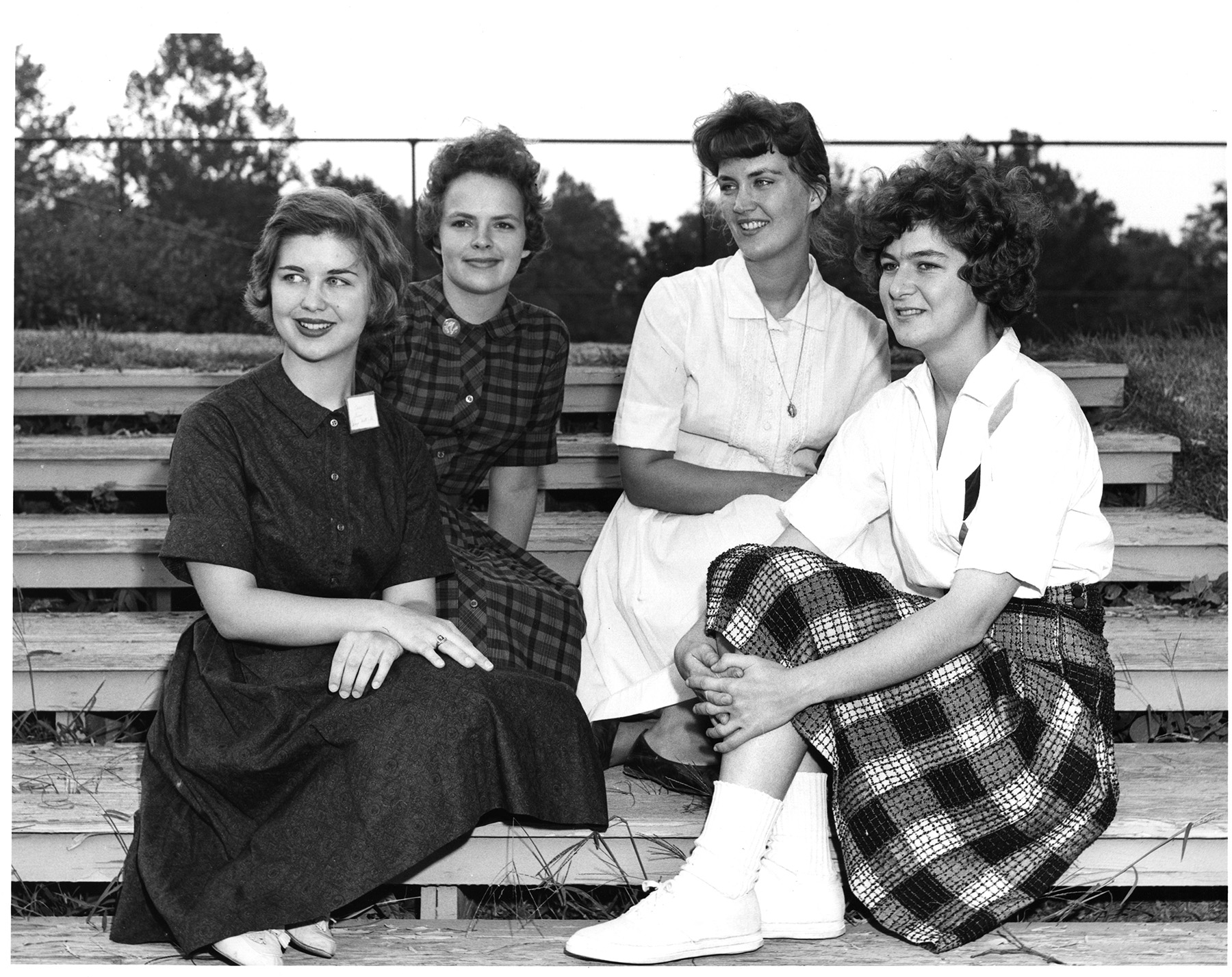 Group of students in 1965