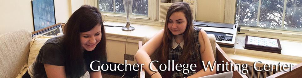 Goucher College Writing Center
